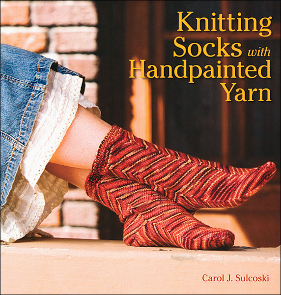 Knitting Socks with Handpainted Yarn