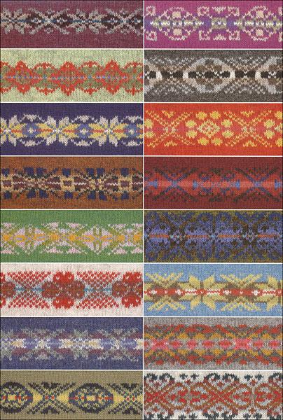 200 Fair Isle Motifs A Knitters Directory From Knitpicks
