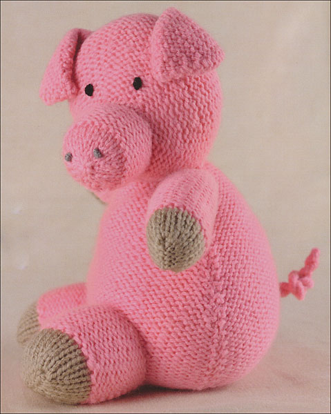 Knitting Animals For Beginners : Knitted farm animals from knitpicks knitting by sarah