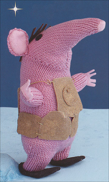 The Clangers Knitting Pattern : Clangers from KnitPicks.com Knitting by Peter Firmin On Sale