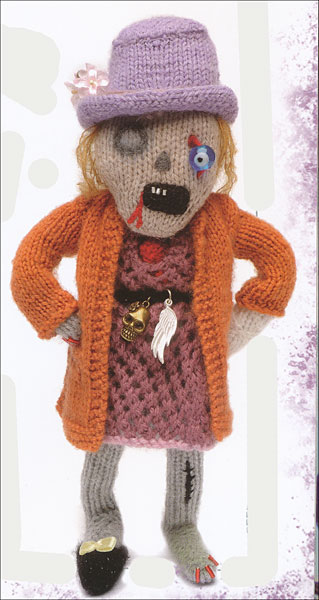 Knitting Zombies : Knit your own zombie from knitpicks knitting by fiona