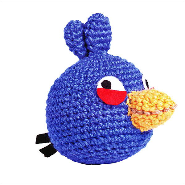 Black Angry Bird Amigurumi Pattern : Angry Birds Amigurumi & More from KnitPicks.com Knitting ...
