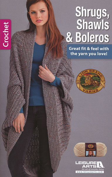Shrugs Shawls Boleros From Knitpicks Knitting By Leisure Arts