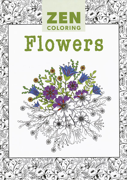 Zen Coloring: Flowers