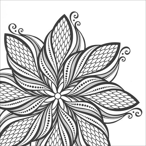 zen coloring mandalas from knitting by guild of master craftsman on sale. Black Bedroom Furniture Sets. Home Design Ideas
