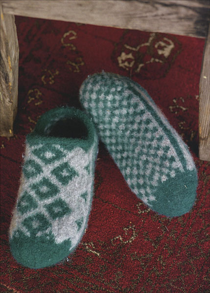 30 Slippers To Knit Amp Felt From Knitpicks Com Knitting By