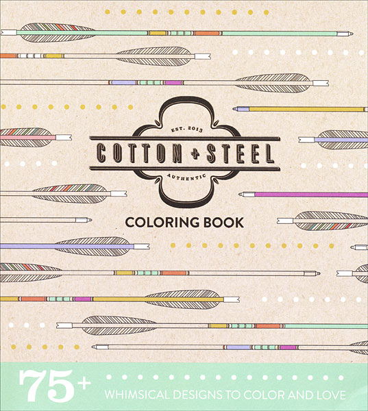 Cotton and Steel Coloring Book