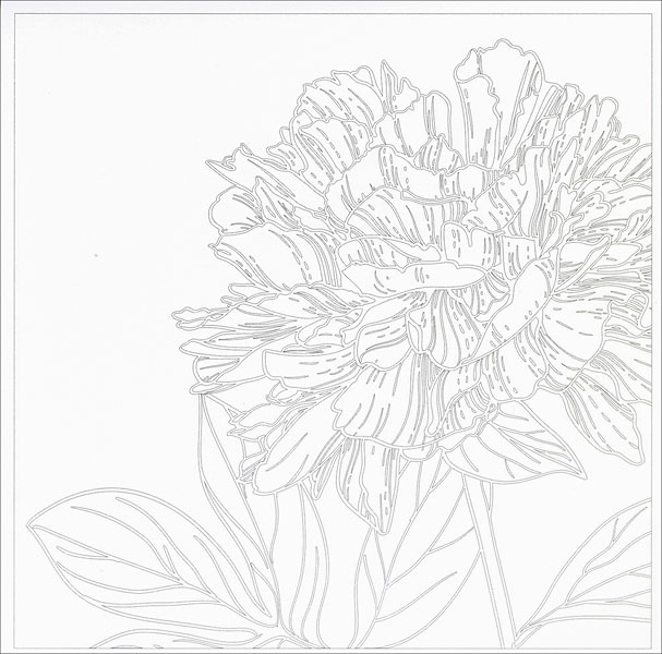 Vive Le Color Flowers Coloring Book From KnitPicks Knitting By Abrams Noterie On Sale
