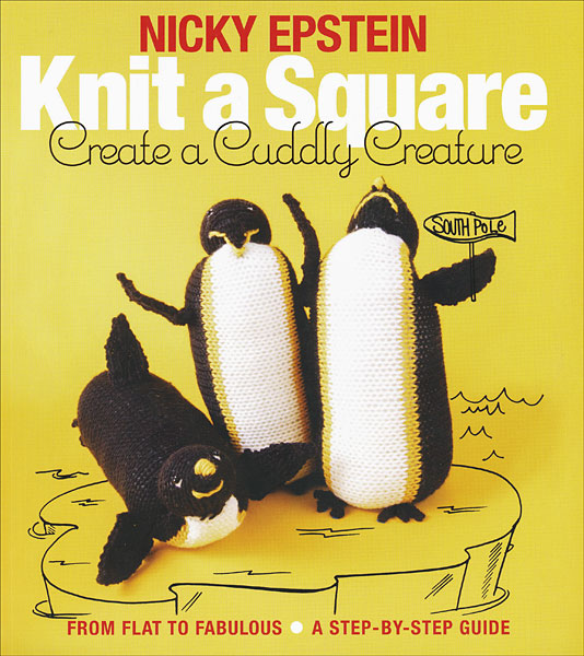 Knit A Square Create a Cuddly Creature