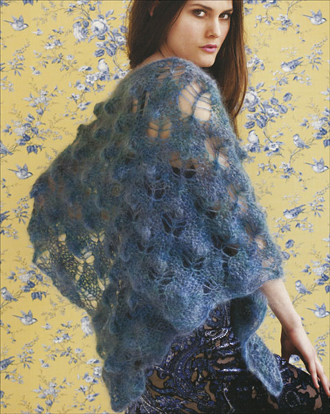 Vogue Knitting Shawls And Wraps 2 From Knitpicks Knitting By