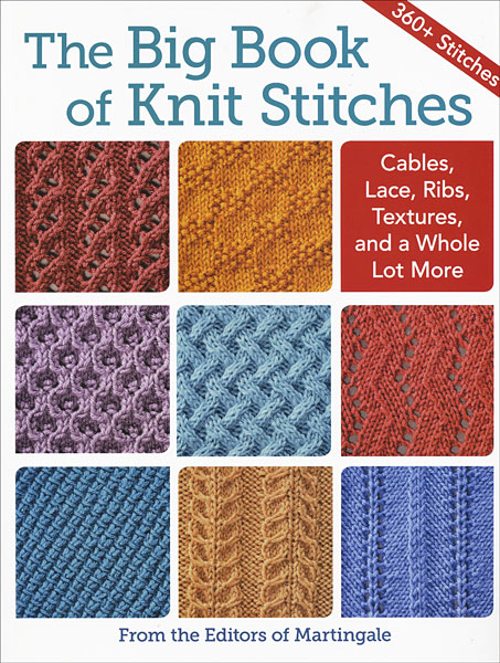 The Big Book Of Knit Stitches From Knitpicks Com Knitting By Editors