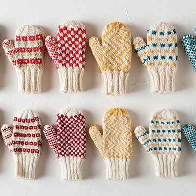 Knit Picks Mighty Mittens collection