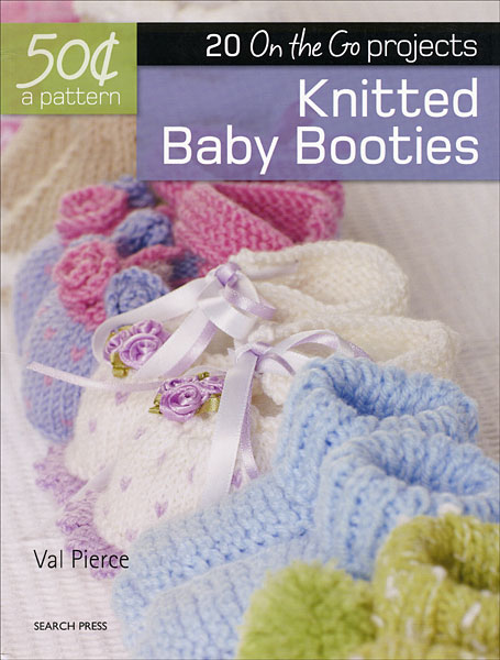 50 Cents A Pattern Knitted Baby Booties From Knitpicks Knitting