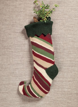 Elf Stocking Pattern