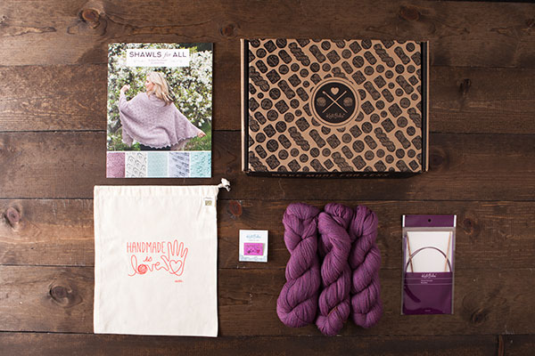Shadow Lace Starter Shawl Boxed Kit