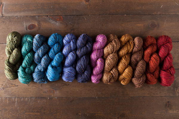 Provincial Tweed Yarn Value Pack