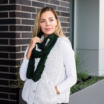 Endless Loop Scarf Pattern