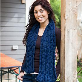 Seamans Scarf Pattern - Knitting Patterns and Crochet Patterns from Knit...