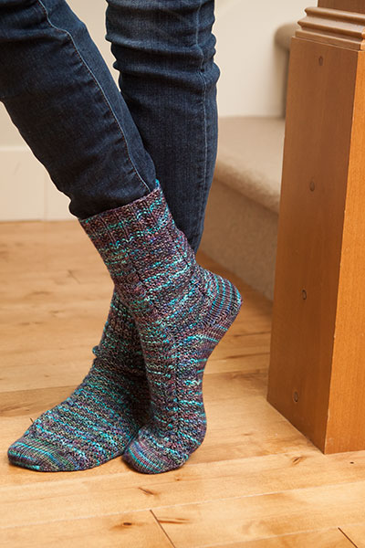 Knitting Pattern Reading Socks : Thermal Socks - Knitting Patterns and Crochet Patterns ...