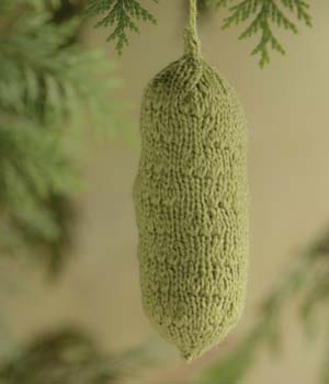 Christmas Pickle Ornament Pattern