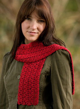 Ziggy Crochet Scarf Pattern