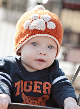 Tiger Stamped Hat Pattern