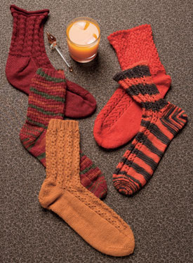 Sock Cocktails Pattern
