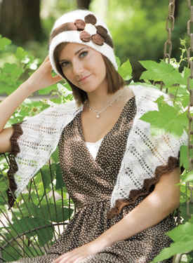 Mixer Cloche and Shawlette Pattern