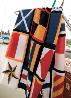 Nautical Blanket Pattern