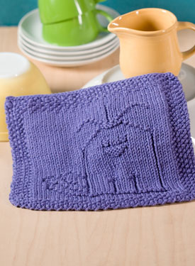 Put a Birdie on it Dishcloth Pattern