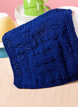 Mess Eating Monster Dishcloth Pattern
