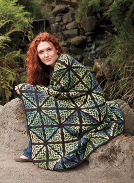 Glass Knot Afghan Pattern