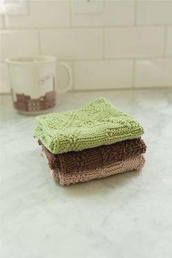 Flora Dish Cloths Pattern