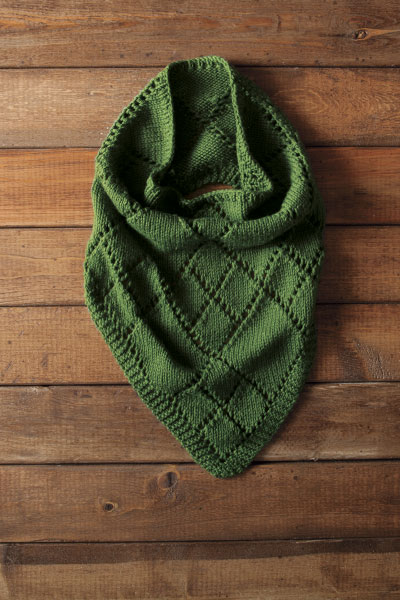 Diamond Kerchief Cowl