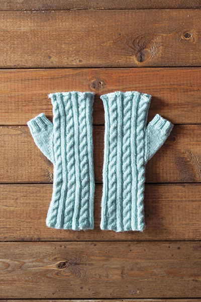 Frida Fingerless Mitts