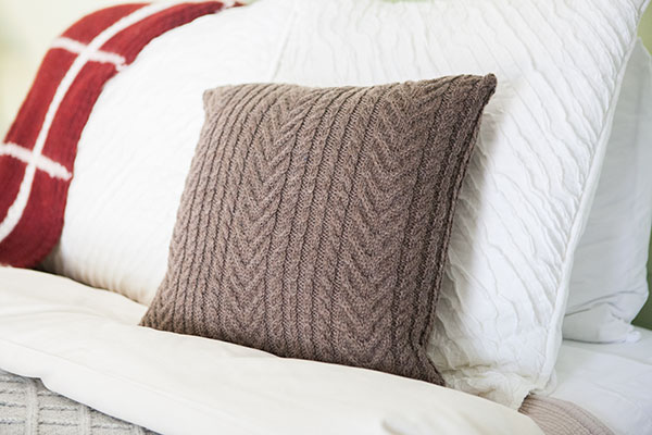 Antler Cable Pillow