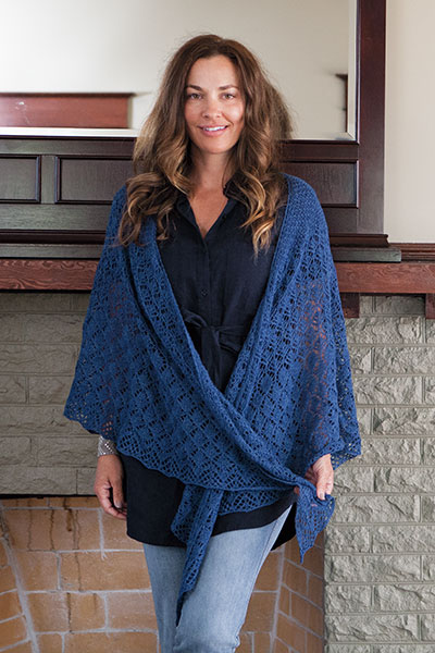 Feronia Shawl
