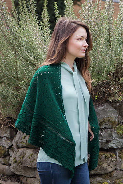 Leaf Out Shawl