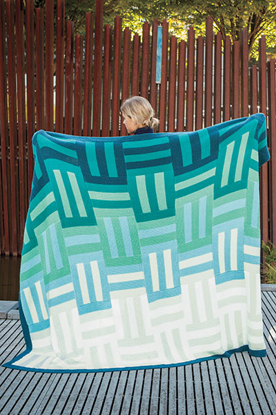 Ombre Knit Quilt