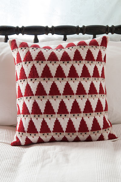 Santa Pillow Knitting Patterns And Crochet Patterns From Knitpicks