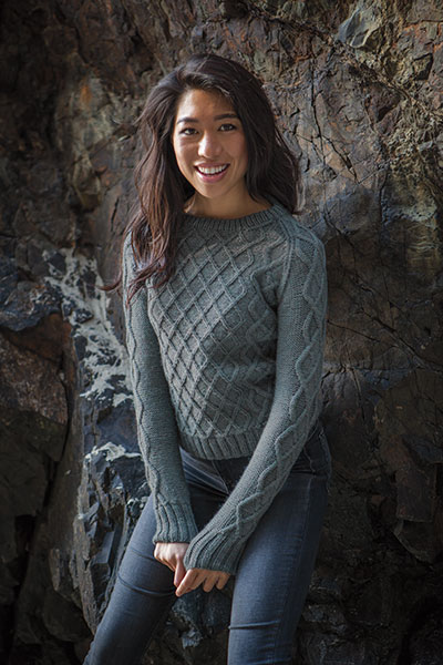 Diamond Lattice Pullover