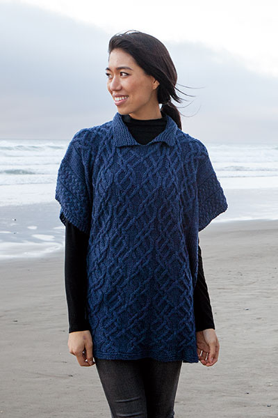 Torque Poncho Knitting Patterns And Crochet Patterns From