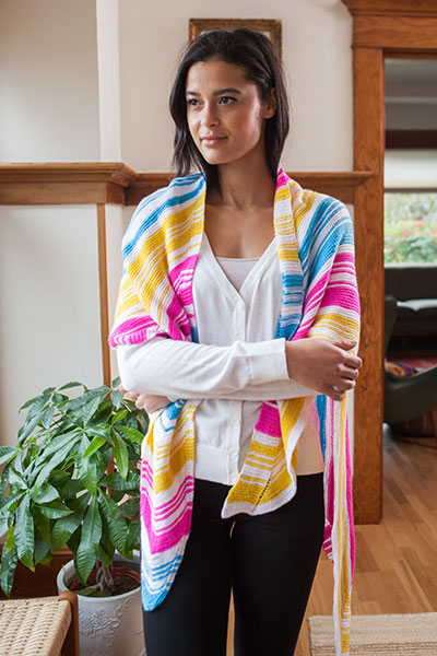 Eclectic Electric Shawl
