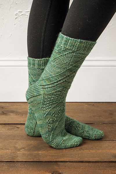 Swirl Sampler Socks