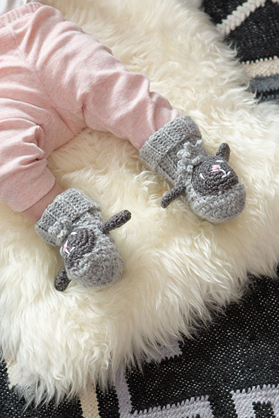 Sheepy Booties