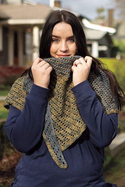 Boothbay Harbor Shawlette