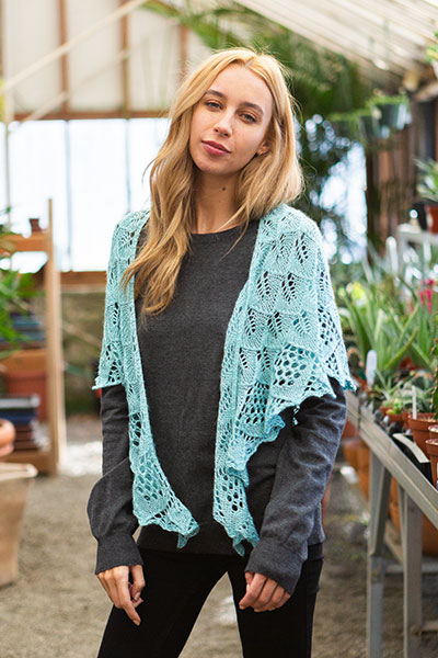Crystallize Shawl