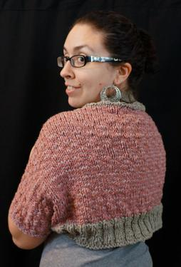 Simply Striped Shrug Pattern