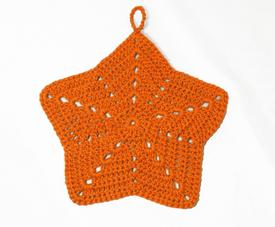 Starfish Crochet Washcloth