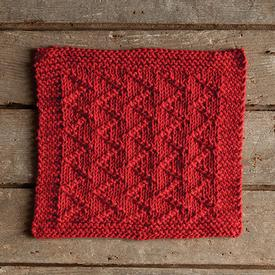 Zickzack Dishcloth